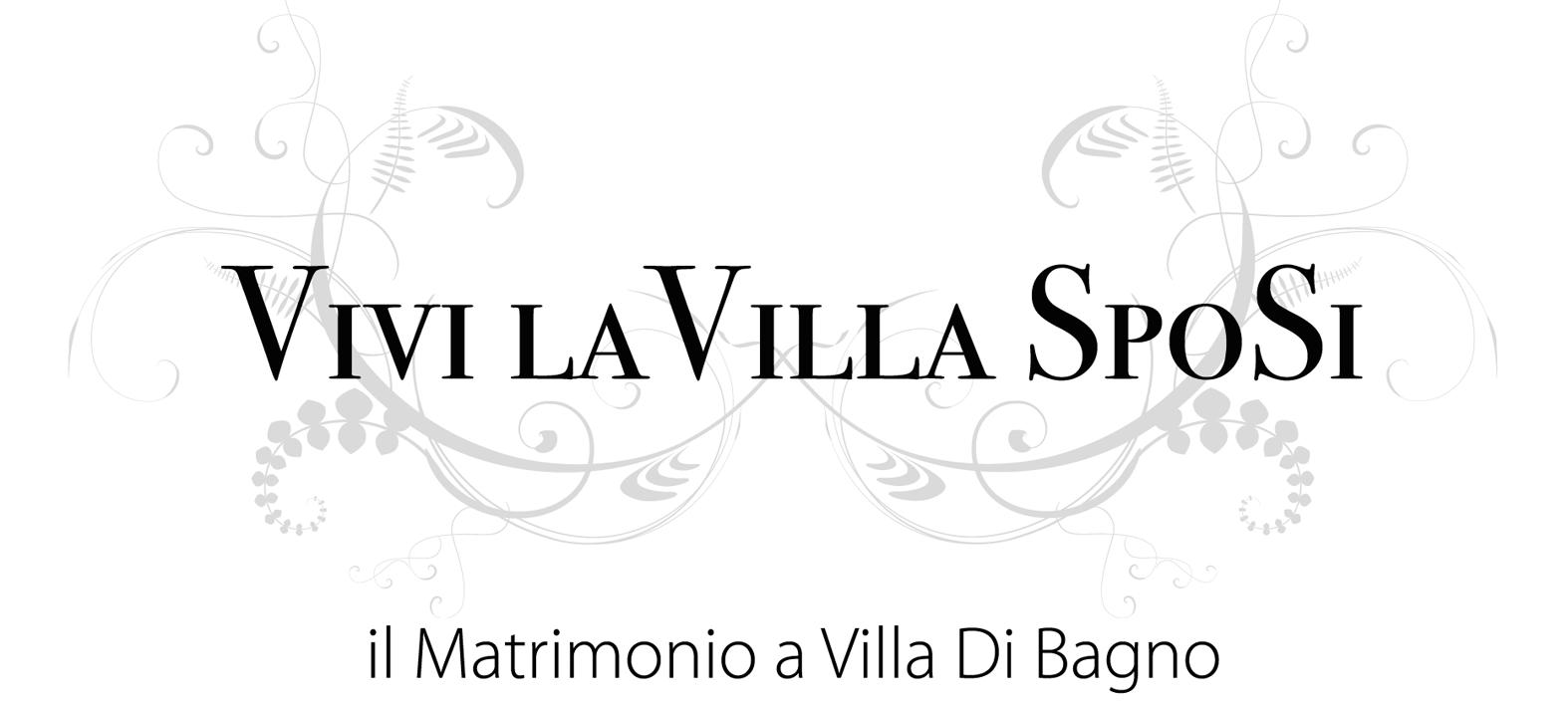 Vivi la villa sposi il matrimonio a villa di bagno - Bagno la villa pinarella ...